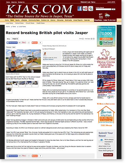 Record-breaking-British-pilot-visits-Jasper-KJAS-March-2015